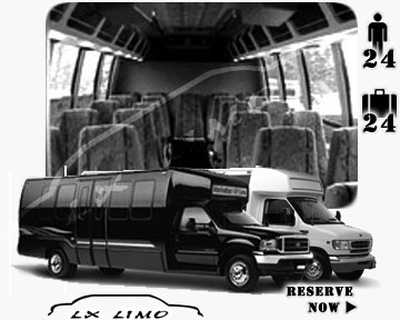 Mini bus for hire in Raleigh, NC