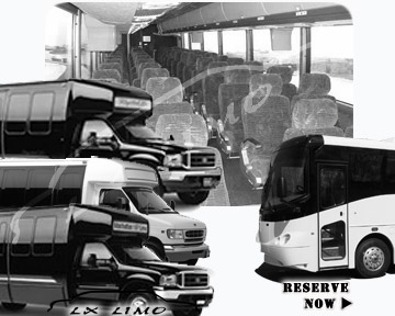 Raleigh Bus rental 36 passenger