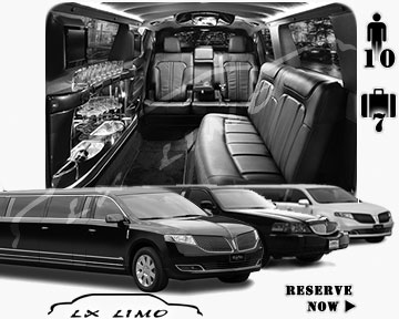 Raleigh Town Car Stretch Limo for rental