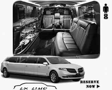 Stretch Limo for hire in Raleigh
