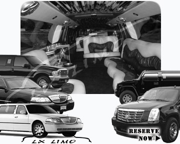 Raleigh Stretch Limos for rental