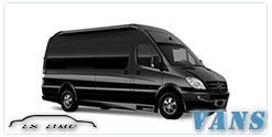 Luxury Van service in Raleigh