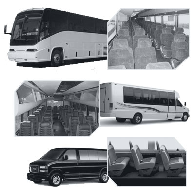 Raleigh Coach Bus rental