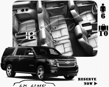 SUV Suburban for hire in Raleigh