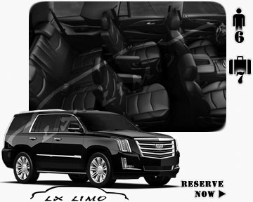 SUV Escalade for hire in Raleigh, NC