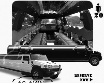 hummer H2 SUV Limo in Raleigh, NC