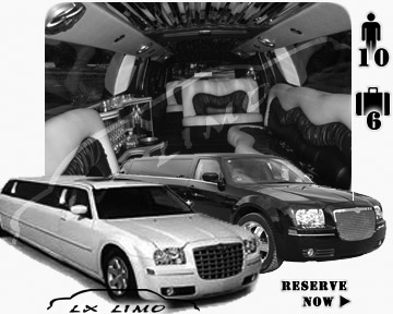 Chrysler 300 Limo in Raleigh for wedding